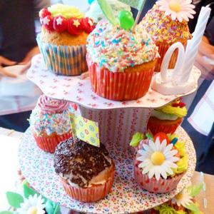 Cours de cup cake pour Louise.